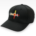 NMOA Logo Black Umpire Hat