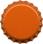 Oxygen Absorbing Bottle Caps - Orange (144 ct)
