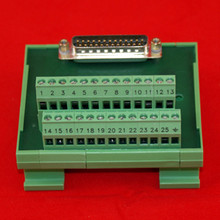 25PIN MALE D-SUB TERMINAL BLOCK