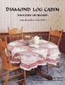 Diamond Log Cabin Tablecloth or Treeskirt by Eleanor Burns