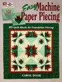 Easy Machine Paper Piecing by Carol Doak
