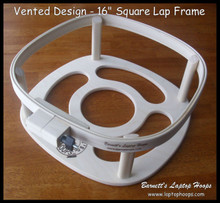 "16"" Square Vented Design Laptop Hoop Frame"