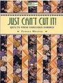Just Can't Cut It! by Pamela Mostek