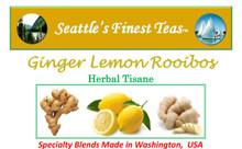 The world's best Ginger Lemon Rooibos - No competition!