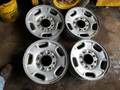 "2011 Chevy GMC 17"" Steel wheels set of 4"
