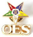OES 3D Color Lapel Pin w/ Letters