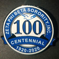 Zeta Centennial Series Lapel Pin