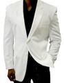 Men's White Blazer - Longs