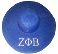 Zeta Greek Letter Brim Floppy Hats