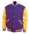 Varsity Wool Leather Jackets (2X - 5X)