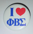 "Sigma ""I Love"" Button Pin"