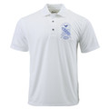 Sigma White Shield Polo (2X - 4X)