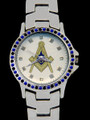 Masonic Crystal Watch