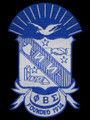"Sigma Shield Emblem -10 1/2"""