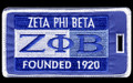 Zeta Luggage Tag - Founded 1920