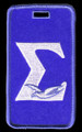 Sigma Luggage Tag - Greek Letter