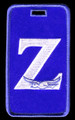 Zeta Luggage Tag - Greek Letter