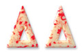 Dobla Blizzard Triangle White/Red