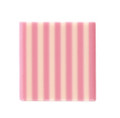 Dobla Domino Square Pink/White