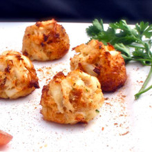 Our premium .75 oz lump crab cake.   Units/case: 88