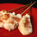 A tender strip of chicken satay placed on a skewer and ready for your favorite marinade.   Units/case: 100
