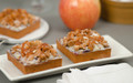 Opera Square Tartlet - Apple Cranberry Caramel Crumble