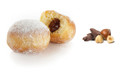 Mini Beignet with Chocolate Hazelnut Filling