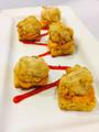Chicken & Waffle Stack w/ Chipotle Aioli