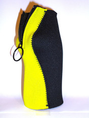 Bottle Koozie ~ Yellow/Black ~ 22104