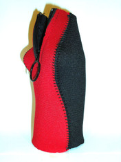 Bottle Koozie ~ Red/Black ~ 22105