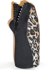 Bottle Koozie ~ Safari Cheetah Diamonds ~ 22414