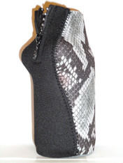 Bottle Koozie ~ Safari Snake Diamonds ~ 22415
