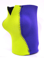 Can Koozie ~ Lime Green/Royal Blue ~ 21110