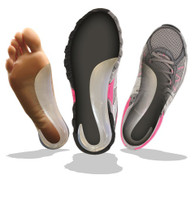 GelThotics provide optimal therapeutic support without changing the fit of the shoe