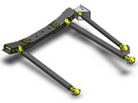 JK Pro Series 3 Link Front Long Arm Upgrade Kit 07-11 Clayton Offroad