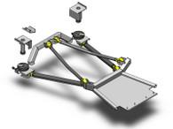 XJ Rear Long Arm Coil Conversion Kit Clayton Offroad