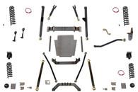 """XJ 6.5"""" Long Arm Lift Kit W/Rear Coil Conversion Clayton Offroad"""
