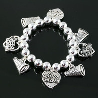 Cheer Mom Stretch Bracelet