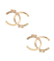 Chic Bling Stud Earrings