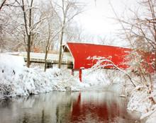 Bridge Over Snowy Creek, Winterset, IA