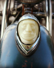 Indian Head, Vintage Bike, Davenport, IA