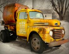 Kimm Concrete Truck, Blairstown, IA