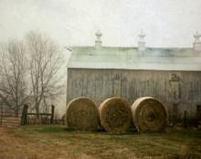 Barn and Bales, Middle Amana, IA