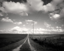 Lonely Lane, Rural Johnson Co., IA