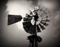 Windmill, B&W
