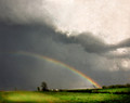 Rainbow After Spring Shower, Southern Illinois