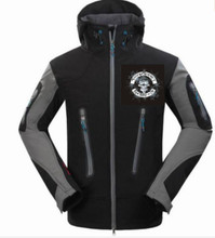 SnowAddiction Black jacket with standard SA Logo