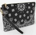 BGB Bandana Print Pouch - Quilted