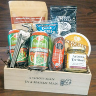 Manly Man Gift Crate - Medium