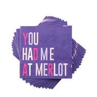'You Had Me At Merlot' Napkins